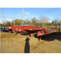 LOWBOY, - 35 TON CAPACITY, 40' DECK LENGTH, 8' WIDTH, DOVETAIL RAMPS, NEW BRAKES, 10.00-15 TIRES