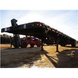 2000 DACO F25R548 FLATBED TRAILER, VIN/SN:1D0A48A25Y1005034 - T/A, 48  LENGTH, 96  WIDTH