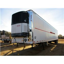 2007 GREAT DANE MS SLT REFER TRAILER, VIN/SN:1GRAA062475703017 - T/A, 53' LENGTH