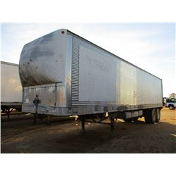 GREAT DANE 810TRIF FUEL/TOOL TRAILER, VIN/SN:62433 - T/A, 40' LENGTH, 500 GALLON & 400 GALLON FUEL T