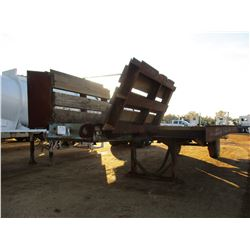 RAIL TRAILER, - 5TH WHEEL, T/A, 35' LENGTH, 11' WIDTH, DOVETAIL