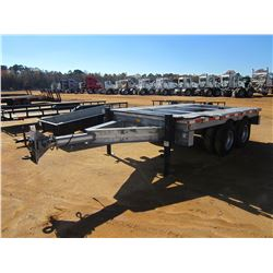 2010 EEC TAG TRAILER, VIN/SN:1E9BU2022AM385002 - 8X12, T/A, 12' LENGTH, 8' WIDTH, PENTLE HITCH