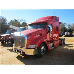 2006 PETERBILT VIN/SN:1XP7DB9X46D639769 - CAT DIESEL ENGINE, A/T, 40K REARS, 12K FRONT, SLEEPER CAB,