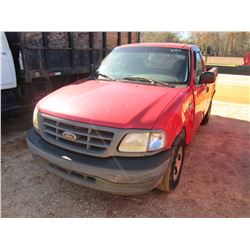 2003 FORD F150 PICKUP, VIN/SN:1FTRF17W13NB25375 - V8 GAS ENGINE, A/T (DOES NOT OPERATE) (COUNTY OWNE