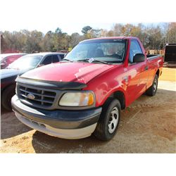 2003 FORD F150XL PICKUP, VIN/SN:1FTRF17W83NB25373 - GAS ENGINE, A/T (DOES NOT OPERATE) (COUNTY OWNED