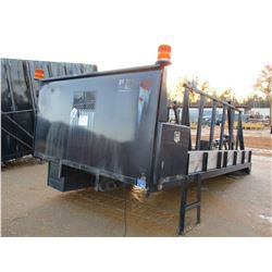 OX BODIES REEL BED W/HYD LIFT, TOOL BOXES (A-1)