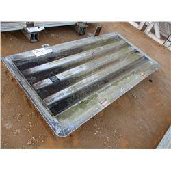 ALUMINUM HEADACHE RACK FIT FLAT BED TRAILER (A-2)