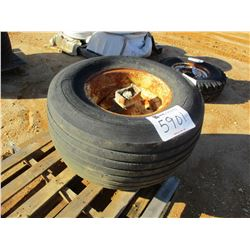 (2) MISC SIZE TIRES (A-2)