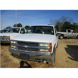 1995 CHEVROLET 1500 PICK UP, VIN/SN:1GCEK14H352Z1141956 -4x4, GAS ENGINE, A/T, ODOMETER READING 225,