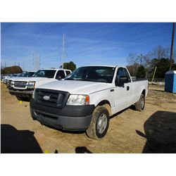 2007 FORD F150 PICK UP, VIN/SN:1FTRF14W67NA82369 - 4X4, EXTENDED CAB, GAS ENGINE,A/T, ODOMETER READI