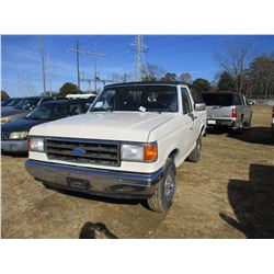 1991 FORD BRONCO VIN/SN:1FMEU15N4MLA53286 - 4X4, GAS ENGINE, A/T, ODOMETER READING 50,322 MILES