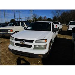 2009 CHEVROLET COLORADO PICK UP, VIN/SN:1GCCS149398118824 - GAS ENGINE, A/T, ODOMETER READING 194,07