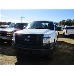2012 FORD F150 PICKUP, VIN/SN:1FTEX1EM5CFB03662 - 4X4, EXT CAB, GAS ENGINE, A/T, ODOMETER READING 14