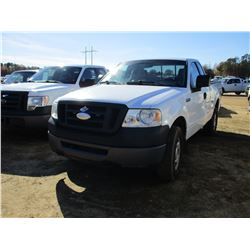 2006 FORD F150 PICKUP, VIN/SN:1FTRF14W86NA86647 - 4X4, EXT CAB, GAS, A/T, ODOMETER READING 150,405 M
