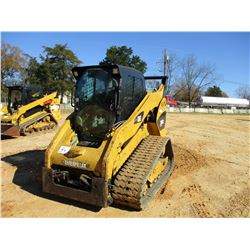 2012 CAT 289C2 SKID STEER LOADER, VIN/SN:RTD00458 - CAB, A/C, METER READING 2,420 HOURS