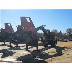 2014 CAT 559C LOG LOADER, VIN/SN:KAS00525 - CAB, A/C, CTR 426 DELIMBER, MTD ON PITTS TRAILER S/N: 15