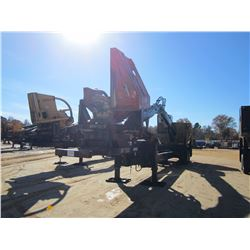 2014 CAT 559C LOG LOADER, VIN/SN:KAS00528 - CAB, A/C, CTR DELIMBER, MTD ON PITTS TRAILER S/N: 150773