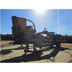 2011 JOHN DEERE 437D LOG LOADER, VIN/SN:201147 - CAB, A/C, CSI 264 DELIMBER, MTD ON PITTS TRAILER S/