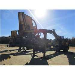 2011 TIGERCAT 234 LOG LOADER, VIN/SN:2340956 - CAB, A/C, CSI 264 ULTRA DELIMBER, MTD ON BIG JOHN T/A