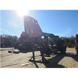 2010 CAT 529 DS LOG LOADER, VIN/SN:PR63750 - CAB, A/C, CTR 320 DELIMBER, MTD ON EVANS TRAILER S/N: 3