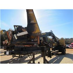 TIGERCAT 240B LOG LOADER, VIN/SN:2401208 - CAB, A/C, CTR DELIMBER, MTD ON PITTS TRAILER S/N: 446