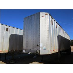 2002 ITI IWS-42 CHIP TRAILER, VIN/SN:1Z92E42282T176193 - T/A, 42' LENGTH, CLOSED TOP, HALF GATE