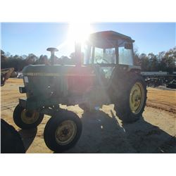 1978 JOHN DEERE 4040 FARM TRACTOR, VIN/SN:298985 - 2 REMOTES, CAB, A/C, 16.9-38 TIRES (DOES NOT RUN)