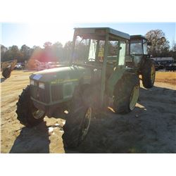 JOHN DEERE 5410 FARM TRACTOR, VIN/SN:341971 - MFWD, 2 REMOTES, CANOPY, 16.9-30 TIRES (DOES NOT OPERA