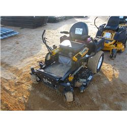 "CUB CADET TANK M48 LAWN MOWER, - ZERO TURN, 48"" COMMAND CUT SYSTEM, METER READING 186 HOURS (C-8)"
