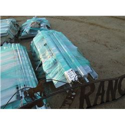 (4) PALLET OF GREEN HOUSE PARTS (C-6)