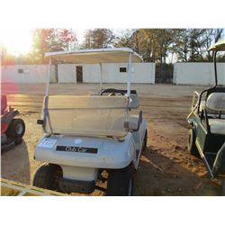 CLUB CAR GOLF CART, VIN/SN:A853182172 - ELECTRIC, WINDSHIELD, CANOPY (DOES NOT OPERATE)
