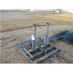 (2) PIPE STANDS (C-8)