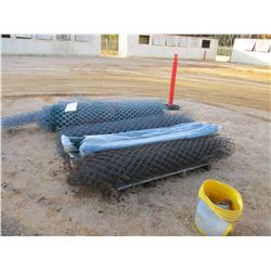 (2) PALLETS 5' CHAIN LINK FENCE (C-7)