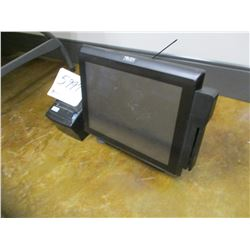 TOUCH DYNAMIC P.O.S. SYSTEM, - SCREEN, RECEIPT PRINTER, MISC CPU/P.O.S. ITEMS