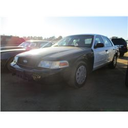 2007 FORD CROWN VICTORIA, VIN/SN:2FAFP71WX7X147106 - GAS ENGINE, A/T