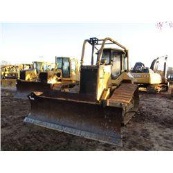 CAT D5M LGP CRAWLER TRACTOR, VIN/SN:3CRD01805 - 6 WA BLADE, CAB, AIR, SWEEPS, METER READING 4,979 HO