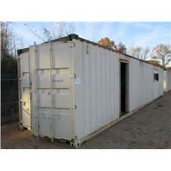 40' STEEL SHIPPING CONTAINER (C-8)