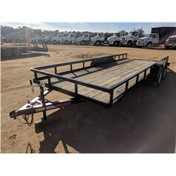 2015 BREWER UTILITY TRAILER