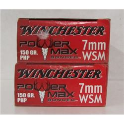 40 ROUNDS OF 7MM WSM