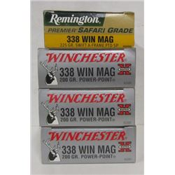 80 ROUNDS OF 338 WIN MAG