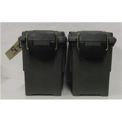 TWO PLANO AMMO CANS