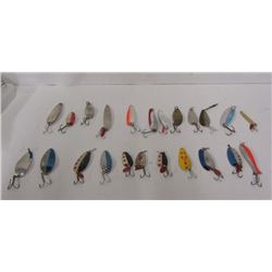 LOT OF SPOON FISHING LURES