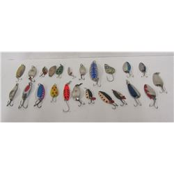 BOX LOT OF SPOON FISHING LURES