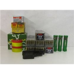 LOT OF APPROX 1200 ROUND OF 22LR, & 22 BLANK GUN
