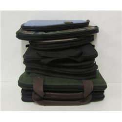 LOT OF EIGHT SOFT PISTOL CASES