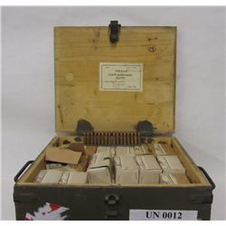 1976 ROUNDS OF 7.62-25 IN AMMO CRATE