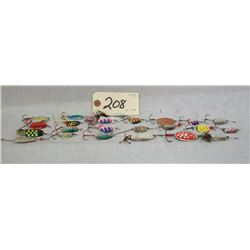 SPINNER FISHING LURE LOT