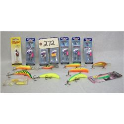 FISHING LURE LOT ASSORTED