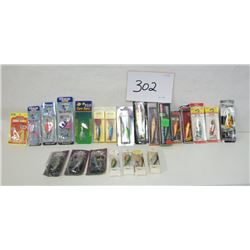 FISHING LURES AND BOXES