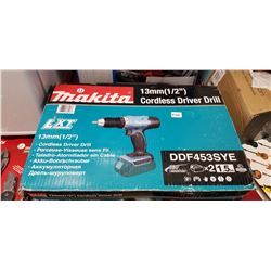 Makita 1/2  Cordless Drill with 2 batteries